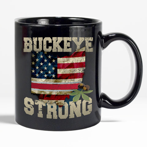 Buckeye Strong Ohio Coffee Mug - Love Family & Home