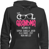 This Cool Grandma Belongs To Personalized T-shirt & Apparel - Love Family & Home  - 7