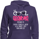 This Cool Grandma Belongs To Personalized T-shirt & Apparel - Love Family & Home  - 6