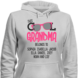 This Cool Grandma Belongs To Personalized T-shirt & Apparel - Love Family & Home  - 5
