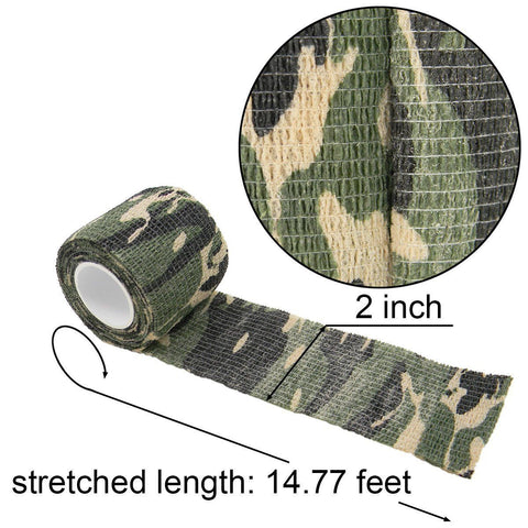 Camo Tape Hunting Stealth Gun And Bow Camouflage Cloth Tape Flexible 1