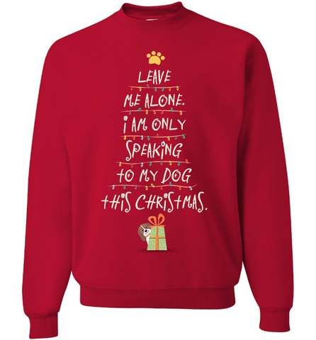 Dog Christmas - Love Family & Home  - 1