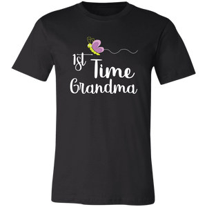 1st Time Grandma T-Shirt - Love Family & Home