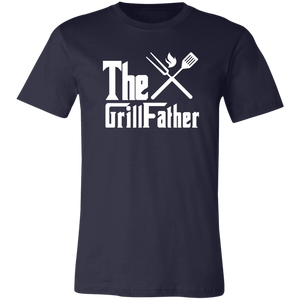 The GrillFather Dads BBQ T-Shirt Grill Father - Love Family & Home
