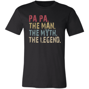 PA PA The Man The Myth The Legend T-Shirt - Love Family & Home