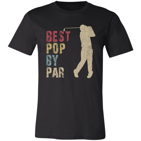 Image of Best Pop By Par T-Shirt - Love Family & Home