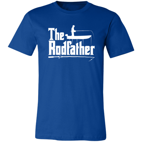 Image of The Rodfather T-Shirt Fishing Dad - Love Family & Home