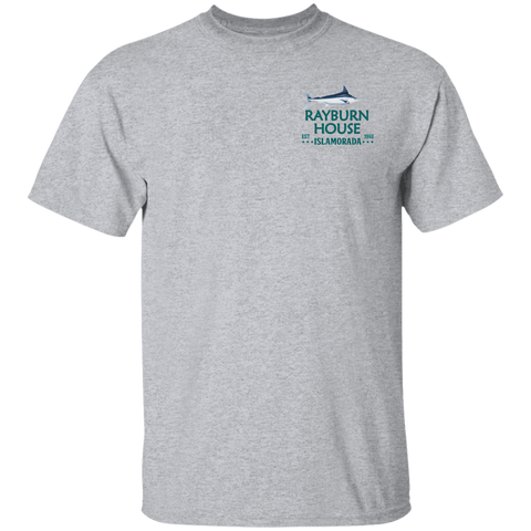 Image of Rayburn House Sports Grey T-Shirt - Love Family & Home