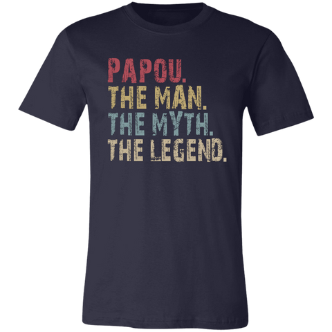 Image of Papou The Man The Myth The Legend T-Shirt - Love Family & Home