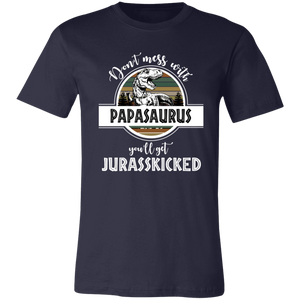 Papasaurus T-Shirt - Love Family & Home