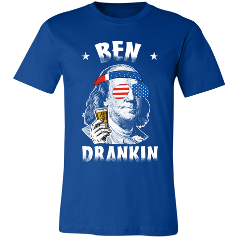 Image of Ben Drankin T-Shirt, Ben Franklin, 4th Of July, Beer Drinking Shirt, USA Shirt - Love Family & Home