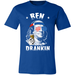 Ben Drankin T-Shirt, Ben Franklin, 4th Of July, Beer Drinking Shirt, USA Shirt - Love Family & Home