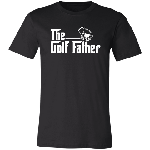 Image of The Golf Father T-Shirt For Golfing Dads - Love Family & Home
