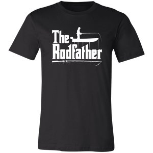 The Rodfather T-Shirt Fishing Dad - Love Family & Home