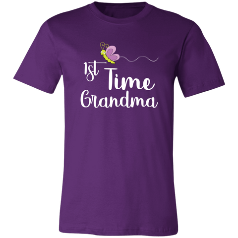 Image of 1st Time Grandma T-Shirt - Love Family & Home