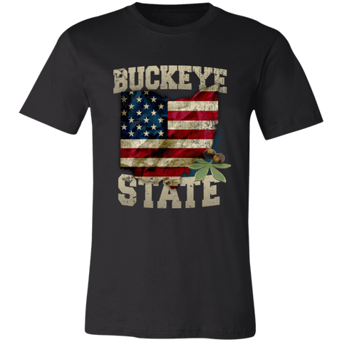 Image of Buckeye State T-Shirt - Love Family & Home