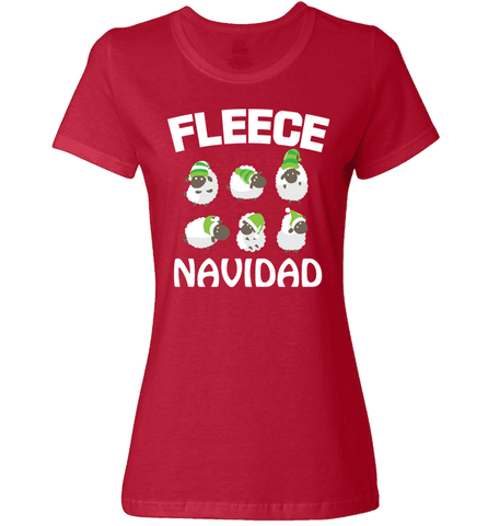 Image of Fleece Navidad - Love Family & Home