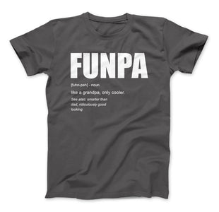 FUNPA Like A Grandpa Only Cooler Grandpa Funny T-shirt - Love Family & Home