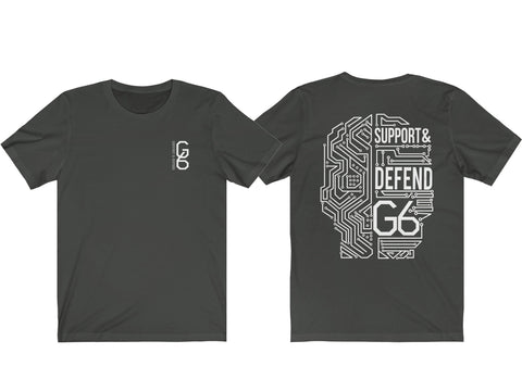 Image of G6 Support & Defend Custom Shirt - Love Family & Home