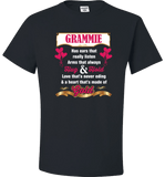 Grammie Hug and Hold Heart Made Of Gold T-Shirts And Apparel - Love Family & Home  - 2