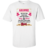 Grammie Hug and Hold Heart Made Of Gold T-Shirts And Apparel - Love Family & Home  - 1