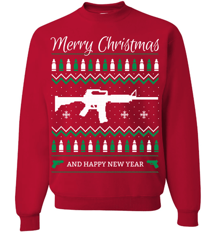 Image of Gun Lovers Christmas - Love Family & Home