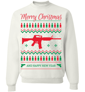 Gun Lovers Christmas - Love Family & Home