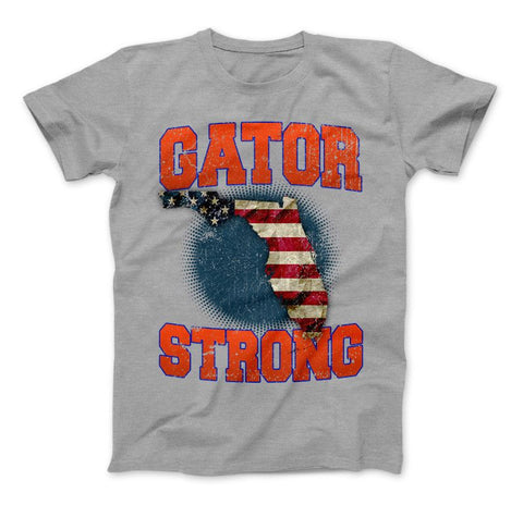 Image of Gator Strong Florida Limited Edition Print T-Shirt & Apparel - Love Family & Home