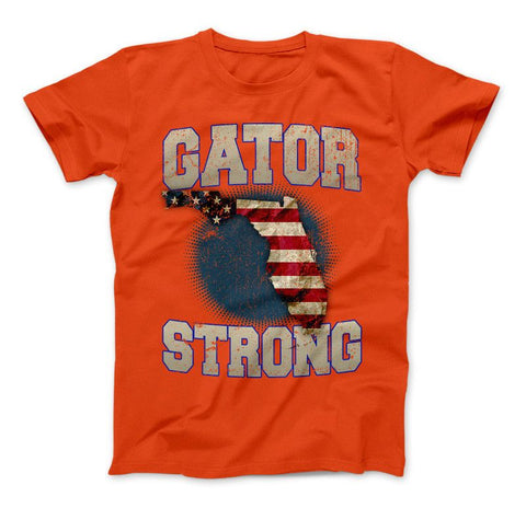 Gator Strong Florida Limited Edition Print T-Shirt & Apparel - Love Family & Home