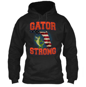 Gator Strong Florida Special Gator Limited Edition Print T-Shirt & Apparel - Love Family & Home