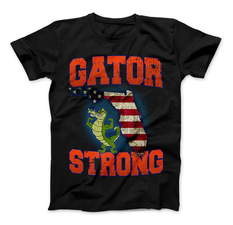 Gator Strong Florida Special Gator Limited Edition Print T-Shirt & Apparel