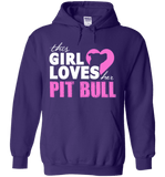 This Girl Loves Her Pit Bull Apparel - Perfect For Anyone who Loves Their Pit Bull! - Love Family & Home  - 2