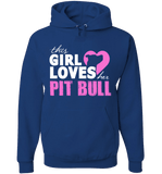 This Girl Loves Her Pit Bull Apparel - Perfect For Anyone who Loves Their Pit Bull! - Love Family & Home  - 3