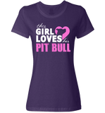 This Girl Loves Her Pit Bull Apparel - Perfect For Anyone who Loves Their Pit Bull! - Love Family & Home  - 7
