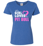 This Girl Loves Her Pit Bull Apparel - Perfect For Anyone who Loves Their Pit Bull! - Love Family & Home  - 8