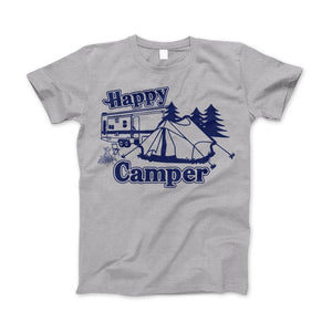 Happy Camper Shirt For Camping Hiking And Outdoor Enthusiast - Love Family & Home