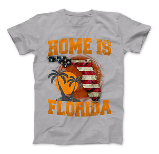 Home Is Florida T-shirt, Florida Shirt - Love Family & Home