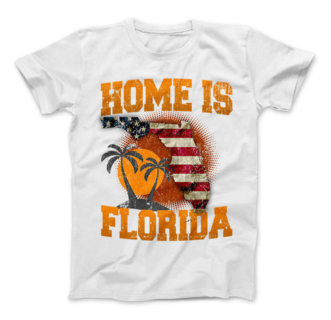 Image of Home Is Florida T-shirt, Florida Shirt - Love Family & Home