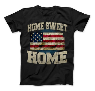 Home Sweet Home Kansas Limited Edition Print T-Shirt & Apparel - Love Family & Home
