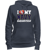 I Love My Navy Grandson Apparel (Can Be C) - Love Family & Home  - 4