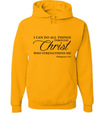 I CAN DO ALL THINGS THROUGH CHRIST PHILIPPIANS 4:13 T-Shirt and Apparel - Love Family & Home  - 6