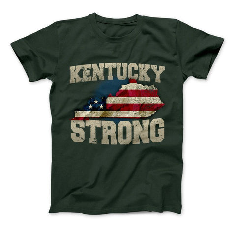 Image of Kentucky Strong State T-Shirt & Apparel - Love Family & Home