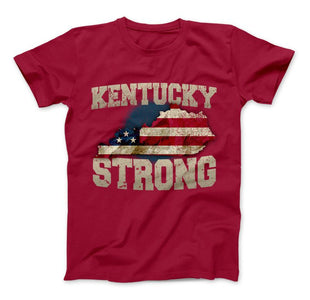 Kentucky Strong State T-Shirt & Apparel - Love Family & Home