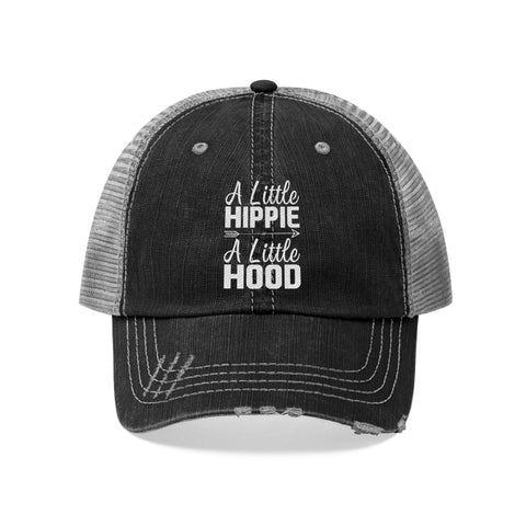 A Little Hippie A Little Hood Distressed Cap - Love Family & Home