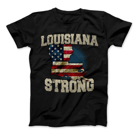 Louisiana Strong Limited Edition Print T-Shirt & Apparel