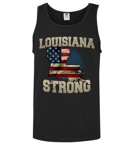 Louisiana Strong Limited Edition Print T-Shirt & Apparel - Love Family & Home
