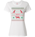 We Wish You A Meowy Christmas - Cat Christmas Apparel - Love Family & Home  - 3