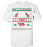 We Wish You A Meowy Christmas - Cat Christmas Apparel - Love Family & Home  - 2