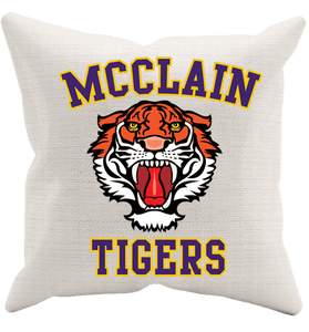 McClain Tigers Roar Pillow Case - Love Family & Home