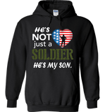 He's Not Just A Soldier He's My Son Apparel (CAN BE PERSONALIZED FOR FREE) - Love Family & Home  - 4